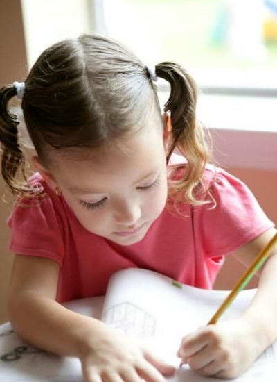 A young girl needing educational psychology treatment